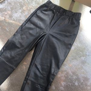 Wilfred Free high waist pleather legging xs